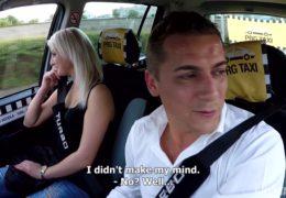 HD Czech Taxi 28 dvacetiletá sexy blondýna