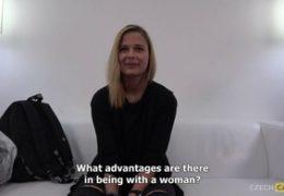 HD CzechCasting nezkušená lesba v trojce