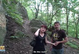 Český kluci vyprcaj zralou ženskou z Ruska