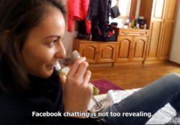 Czech spy 8 ošukání mladé brunetky v jejím bytě