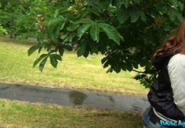 HD Public Agent aneb potetovaná studentka Foxy Sanie E557