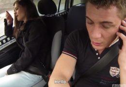 HD Czech Taxi 2 sveze mladou holku z diskotéky