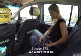 HD Czech Taxi 5 sveze mladou blonďatou kočku