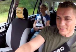 HD Czech Taxi 38 aneb sexuchtivá strojní inženýrka