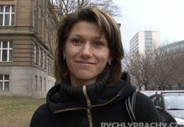 Rychlý prachy 23 štíhlá studentka Zlata z Ostravy