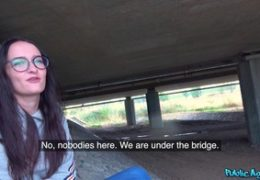 HD Public Agent aneb sex pod mostem s Sasha Sparrow E576