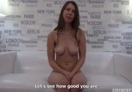 HD CzechCasting aneb sexy studentka se zarostlou kundičkou Pavlína 3532