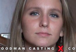 WoodManCastingX další češka na castingu alias osmnáctka Nessy Nesso