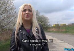 HD PublicAgent uloví mladou studující rusku a venku ji ošuká