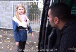 Vem dodávku alias TakeVan a mladá češka z ulice ojetá nadrženým cizincem
