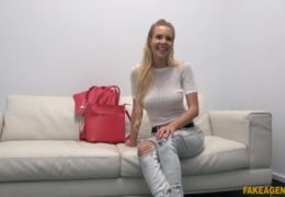 Czech FakeAgent aneb kozatá češka Florane Russell na castingu