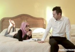 Muslimská sestra opíchá svého nevlasního bratra