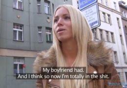 HD Public Agent a ulovená blonďatá turistka z Maďarska