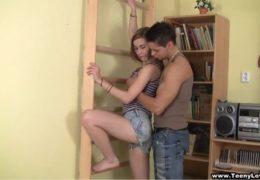 Žhavá Alexis Crystal a její přítel místo cvičení radši šukaj
