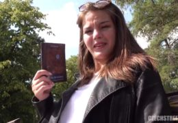 Rychlý prachy aneb venkovní mrdačka s hosteskou Martinou