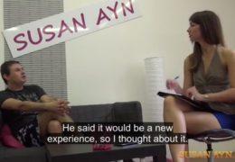 Susan Ayn a skoro čtyřicátník chce zkusit porno