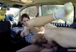 Do českýho taxíku nasedne chlupatá holčina