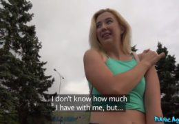 Public agent ukecá sexy cizinku z Los Angeles
