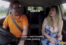 Ryan Ryder jako učitel autoškoly a kozatá ženská s přednostmi