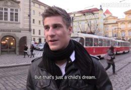 Český gay lovec a devatenáctiletej pohlednej kluk Honza