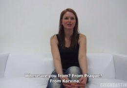 Adéla z Karviný si přišla vyzkoušet českej casting