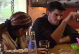 V českým baru jsem ulovil hezkou snědou kundičku