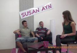 Dva pražáci si vyzkoušej trojku se Susan Aynovou