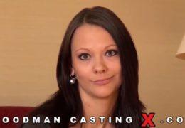 Laura Brook na castingu od Woodmana