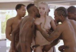 Černoši na blondýnkách porno filmy