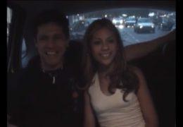 Mladý brazilský pár to rozjede za jízdy v taxíku