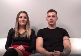 Podivuhodný mladý pár na českým castingu